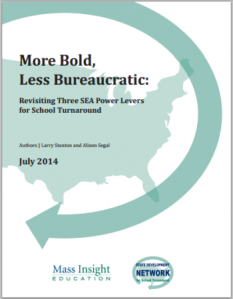 More Bold, Less Bureaucratic - New publication from the SDN!